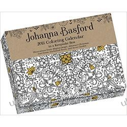 Kalendarz biurkowy do kolorowania Johanna Basford 2018 Coloring Day-To-Day Calendar