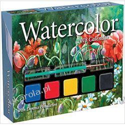 Kalendarz Watercolor 2018 Day-to-Day Calendar Pozostałe