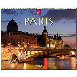 Kalendarz Paris 2018 Calendar Paryż
