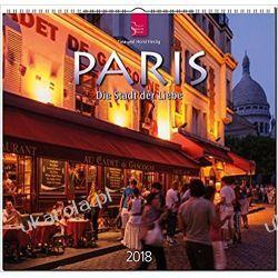 Kalendarz Paryż Paris 2018 Calendar Kalendarze ścienne