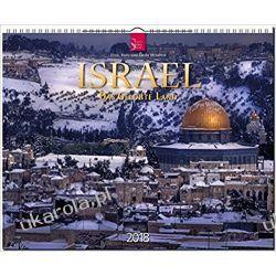 Kalendarz ISRAEL Calendar 2018 Izrael Pozostałe