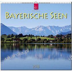 Kalendarz Bawaria Bavarian Lakes 2018 Calendar