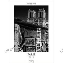Kalendarz Paryż Paris Calendar Black & White Calendar