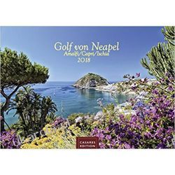 Kalendarz Zatoka Neapolitańska 2018 Calendar Capri Ischia Amalfi
