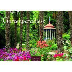 Kalendarz Rajskie Ogrody Garden Paradise 2018 Calendar