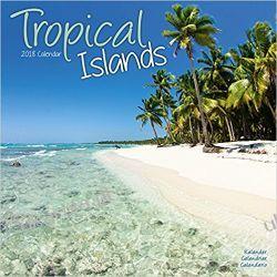 Kalendarz Tropical Islands Calendar 2018 Wyspy Pozostałe