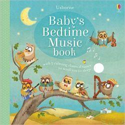 Baby's Bedtime Music Book Książki dla dzieci i młodzieży
