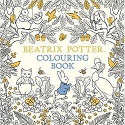 The Beatrix Potter Colouring Book Książeczka do kolorowania Książki dla dzieci i młodzieży