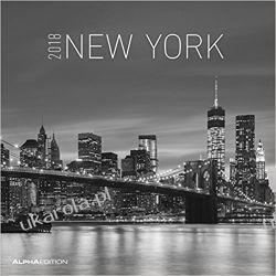 Kalendarz Nowy Jork New York 2018 Calendar Kalendarze książkowe
