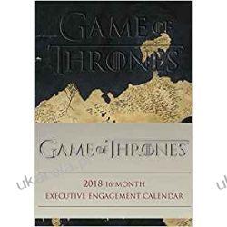 Kalendarz książkowy Gra o Tron Official Game of Thrones 2017-2018 16-Month Diary