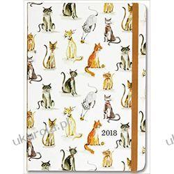 Kalendarz książkowy Koty 2017-2018 Cat Tales Weekly Planner