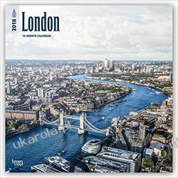 Kalendarz Londyn London 2018 Wall Calendar Pozostałe