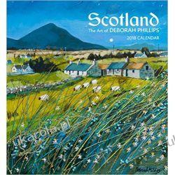 Kalendarz Art Szkocja Deborah Phillips Scotland 2018 Wall Calendar Pozostałe