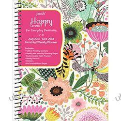 Kalendarz książkowy Kwiaty Posh: Happy Living 2017-2018 Diary