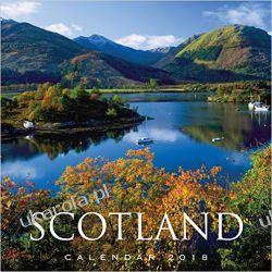 Kalendarz 2018 Scotland Calendar Szkocja Pozostałe albumy i poradniki