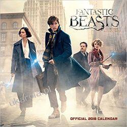 Kalendarz Fantastyczne Zwierzęta i Jak Je Znaleźć Fantastic Beasts Official 2018 Calendar Kalendarze ścienne