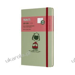 2018 Moleskine Peanuts Limited Edition Willow Green Large Weekly Notebook Diary 18 Months Hard