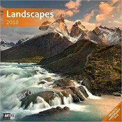 Kalendarz Krajobrazy Landscapes 2018 Calendar Pozostałe