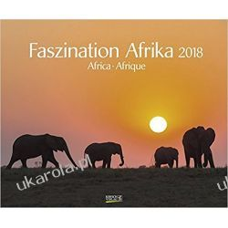 Kalendarz Afryka Africa 2018 Calendar Książki i Komiksy