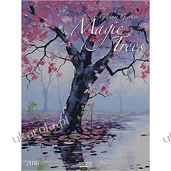 Kalendarz Drzewa Magic Trees 2018 Art Calendar Książki i Komiksy