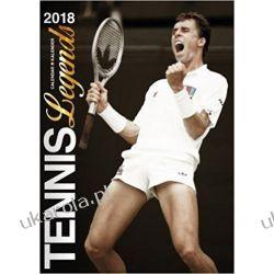 Kalendarz Tennis Legends 2018 Calendar Książki i Komiksy
