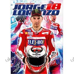 Kalendarz Jorge Lorenzo 2018 Calendar Książki i Komiksy