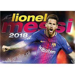 Kalendarz Lionel Messi 2018 Calendar Książki i Komiksy