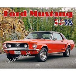 Kalendarz Ford Mustang 2018 Calendar Książki i Komiksy