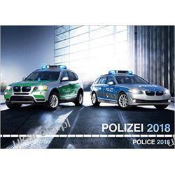 Kalendarz Policja Police 2018 Calendar Książki i Komiksy