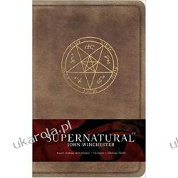 Supernatural: John Winchester Hardcover Ruled Journal Pozostałe