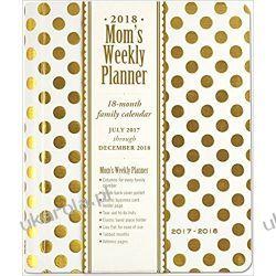 Kalendarz Książkowy Złote Groszki 2017-2018 Gold Dots Mum's Weekly Planner