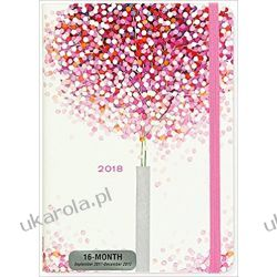 Kalendarz Książkowy 2017-2018 Lollipop Tree Weekly Planner Calendar