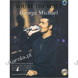 You're the Voice - George Michael: Piano/Vocal/Guitar (You're the Voice) BK/CD Literatura piękna, popularna i faktu