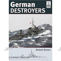 German Destroyers Shipcraft 25 Modelling Książki naukowe i popularnonaukowe