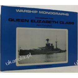 Queen Elizabeth Class Warship Monograph John Campbell Książki naukowe i popularnonaukowe