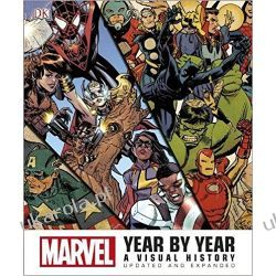 Marvel Year by Year Updated and Expanded: A Visual History Kalendarze ścienne