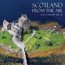 Kalendarz 2019 Scotland Calendar - Scotland from the Air Szkocja z nieba