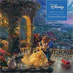 Kalendarz Thomas Kinkade: The Disney Dreams Collection 2019 Square Wall Calendar