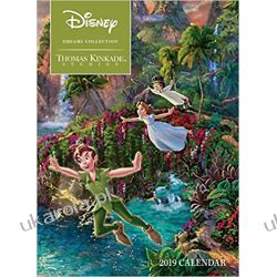 Kalendarz książkowy Thomas Kinkade: The Disney Dreams Collection 2019 Diary Calendar