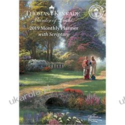 Kalendarz książkowy Thomas Kinkade Painter of Light 2019 Monthly Pocket Planner Calendar