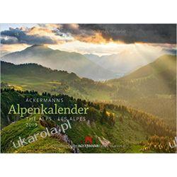 Kalendarz Alpy The Alps 2019 Calendar