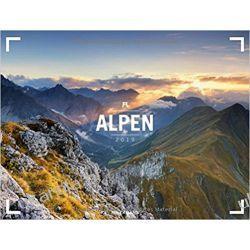 Kalendarz Góry Alpy The Alps 2019 Calendar