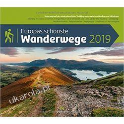 Kalendarz Najpiękniejsze szlaki turystyczne w Europie 2019 Calendar