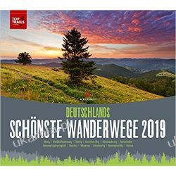 Kalendarz German Trails 2019 Najpiękniejsze szlaki turystyczne w Niemczech Calendar Kalendarze książkowe