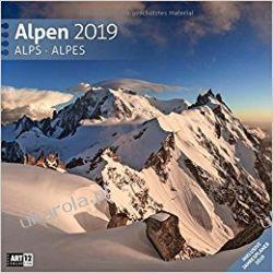 Kalendarz Góry Alpy 2019 Alps Calendar Pozostałe