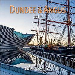 Kalendarz Szkocja 2019 Scotland Calendar - Dundee & Angus Kalendarze ścienne