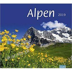 Kalendarz Góry The Alps Calendar 2019 Alpy