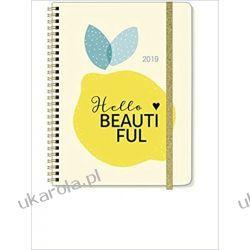 Kalendarz książkowy 2019 Hello Beautiful Calendar Planner
