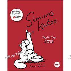 Kalendarz książkowy Kot Simona 2019 Simon's Cat Planner Calendar