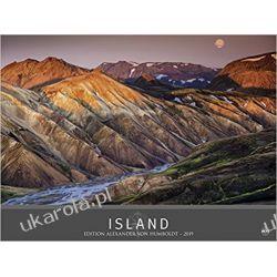 Kalendarz Islandia 2019 Edition Alexander von Humboldt - Island Iceland Calendar Kalendarze ścienne